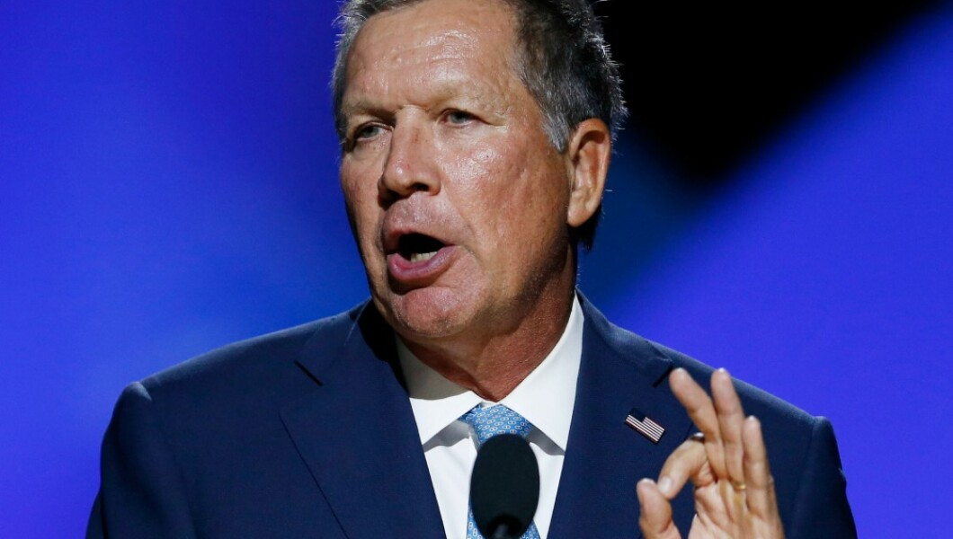 Image result for John Kasich warns Republicans: Young voters coming for you in November if gun control doesn't get done