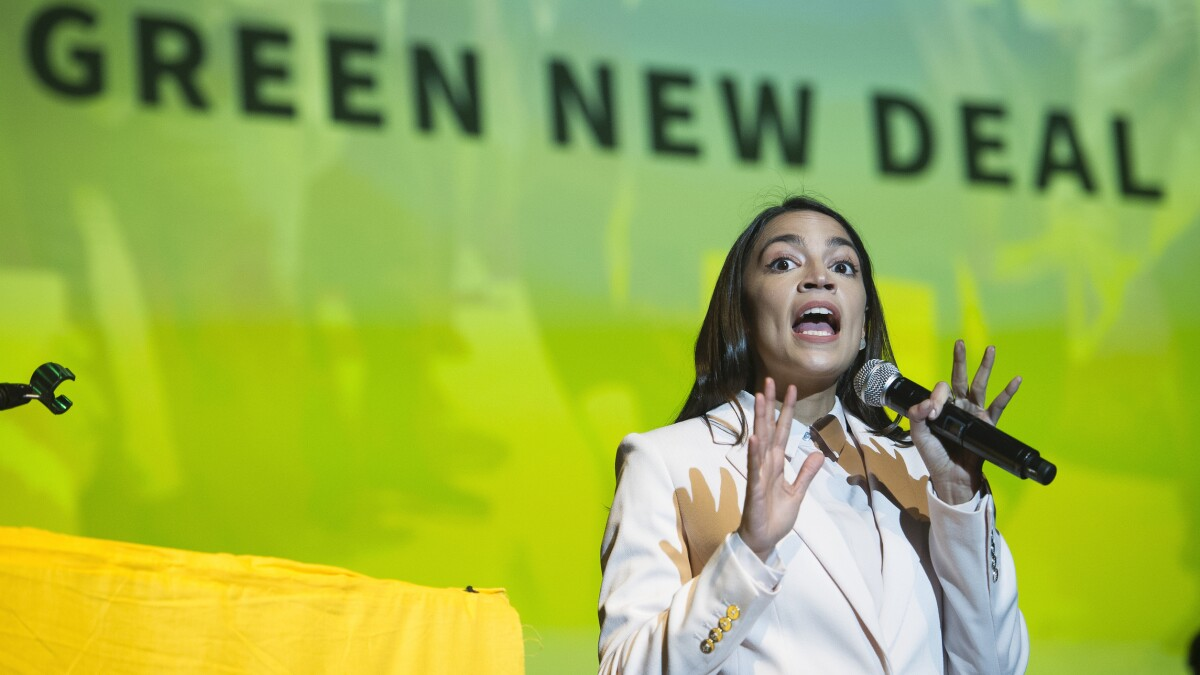 'We need to be realistic': AOC predicts Miami won't exist 'in a few years' without Green New Deal