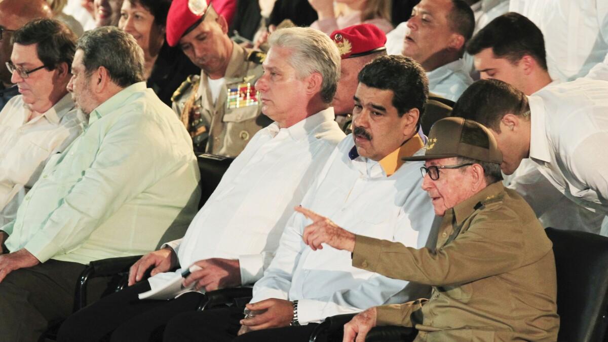 Counter Venezuela's move to consolidate Cuba