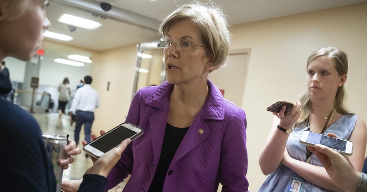 Elizabeth Warren fundraised off Brett Kavanaugh's accuser while she still can