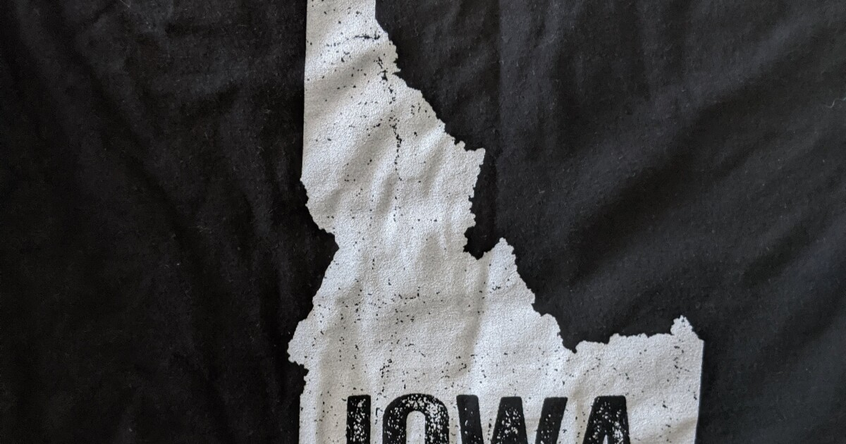 Biden's approval rating is 31% in Iowa — not Idaho, in <i>Iowa</i>
