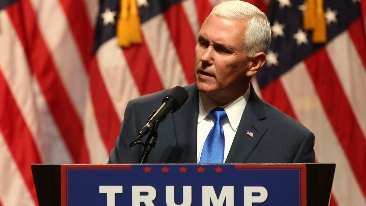 North Carolina teacher under investigation after allegedly calling for Pence assassination