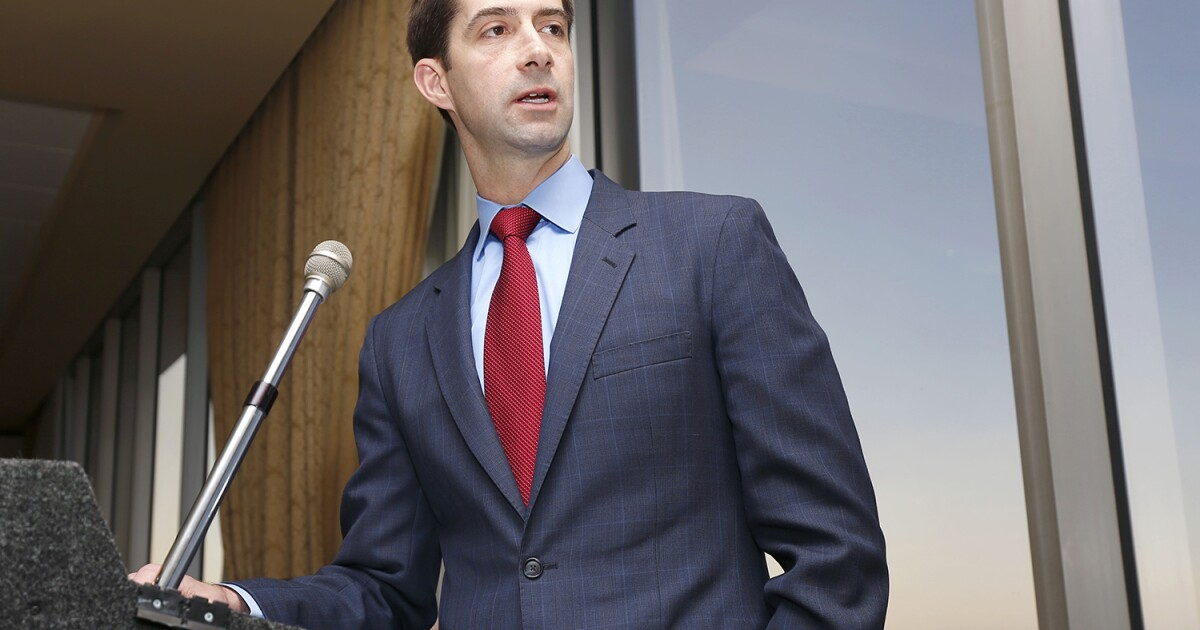Tom Cotton: Intelligence Committee sees 'heightened threats' from Iran