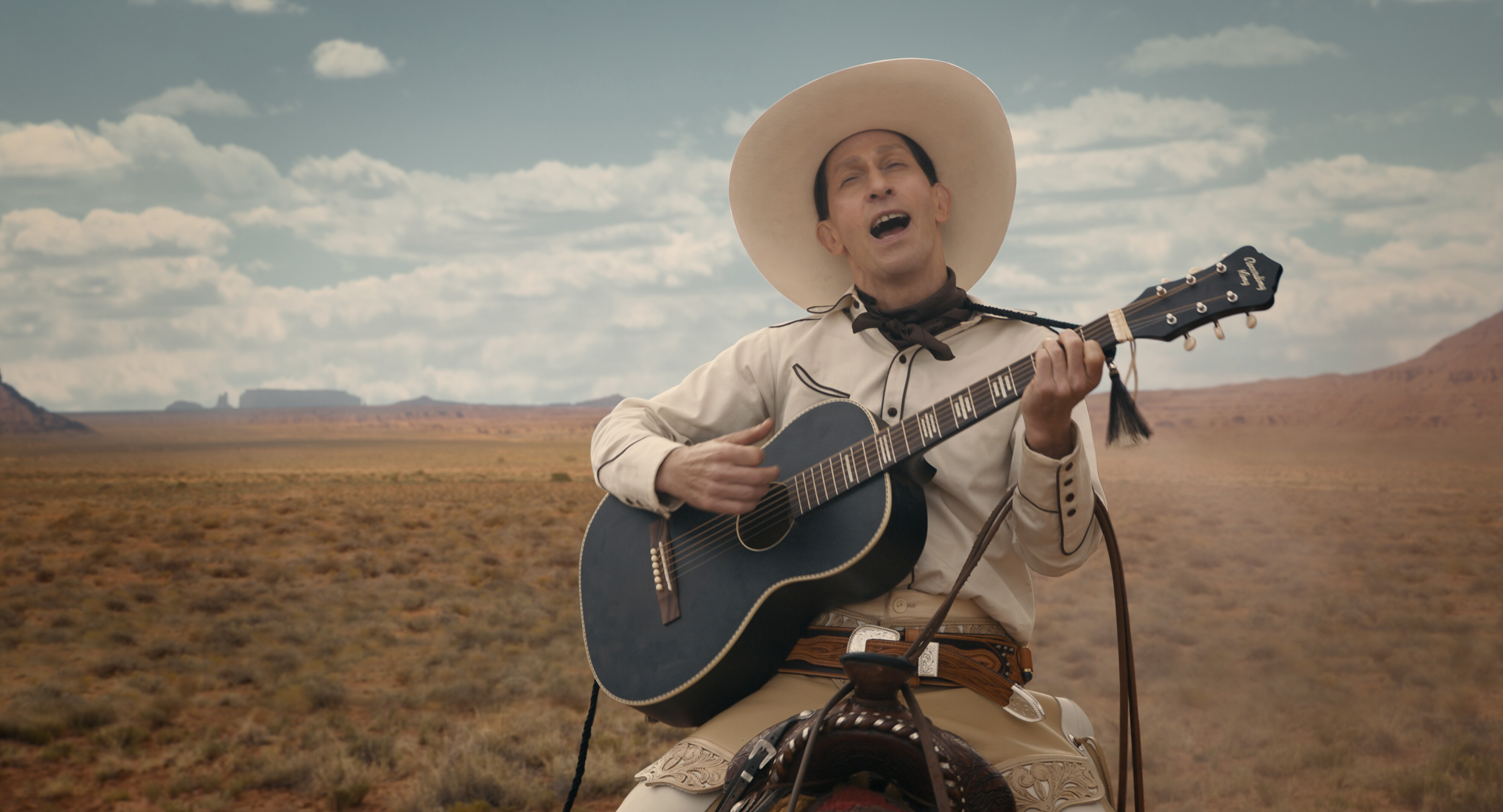 coen brothers 'the ballad of buster scruggs' review: strange saddles
