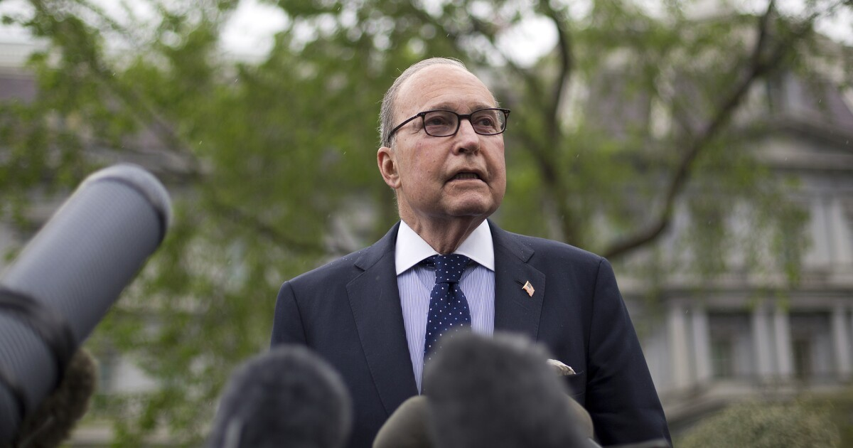 'I'm not sure it's over': Kudlow says coronavirus relief package still possible