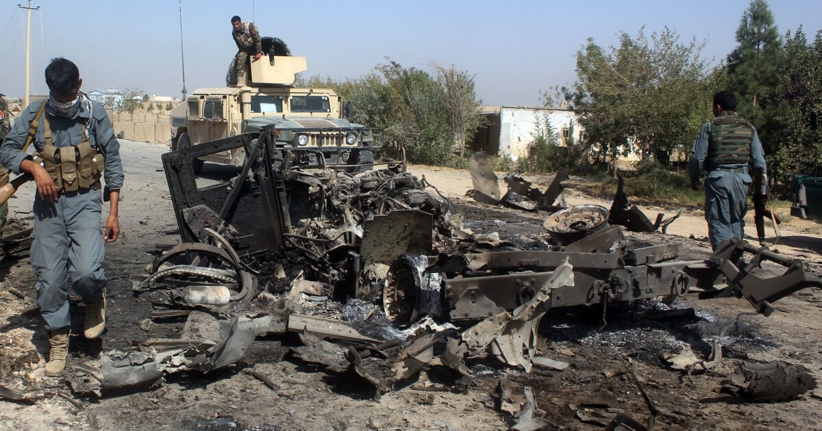 Taliban torches Trump's tough Afghanistan talk