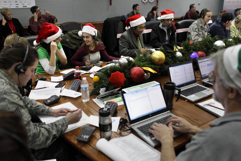 NORAD Tracks Santa logs 19.58 million web visits