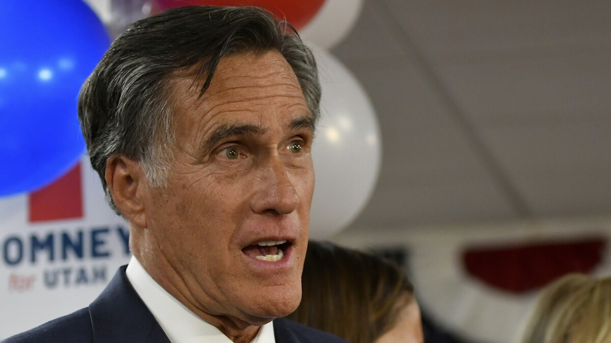 'Troubling in the extreme': Romney breaks ranks with GOP over Trump and Ukraine