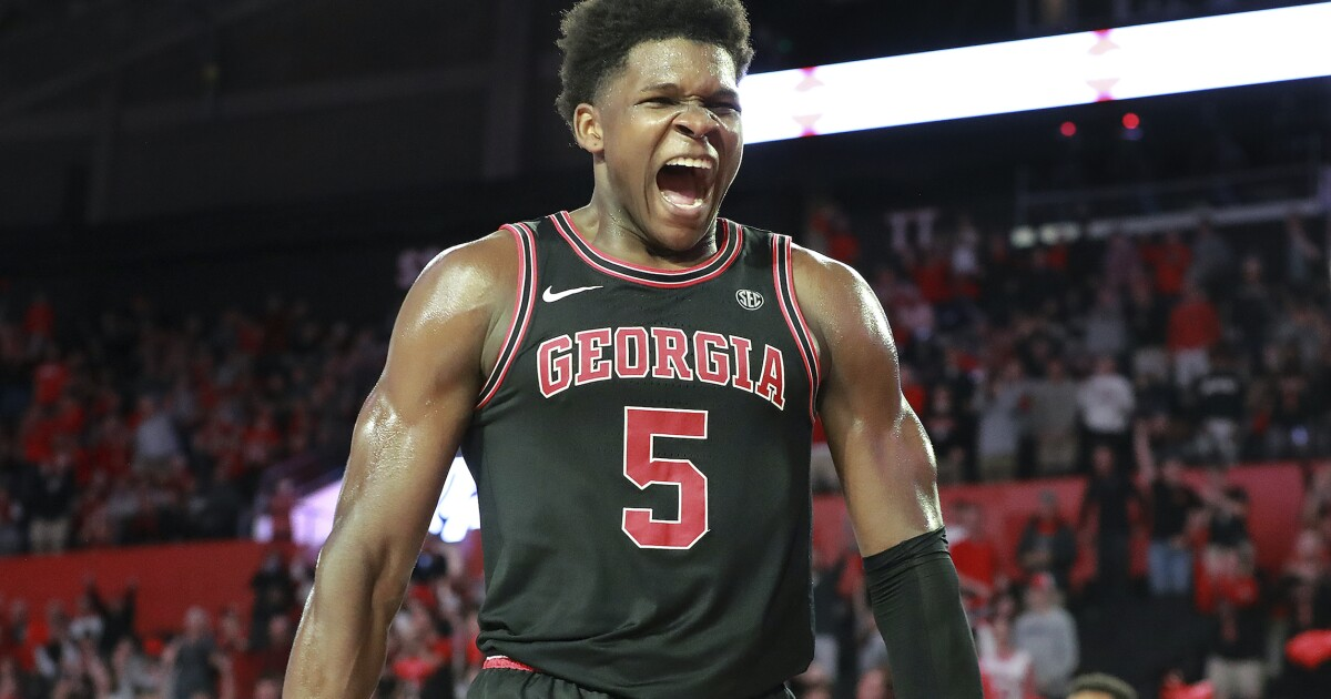Georgia`s Anthony Edwards chosen first in 2020 NBA...