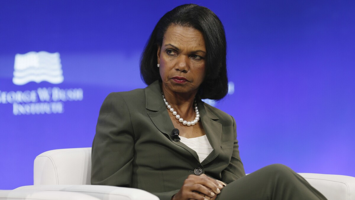 Condoleezza Rice stops NBC host in her tracks after she asked if Russia 'elected' Trump