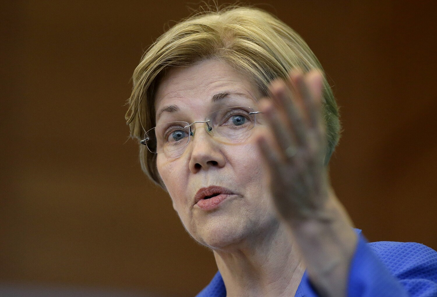 Warren on Coulter at Berkeley: 'Let her speak and don't show up'