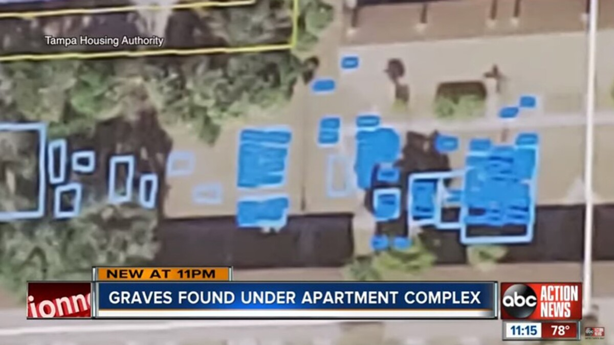 Residents forced to move after 120 coffins discovered under apartment complex