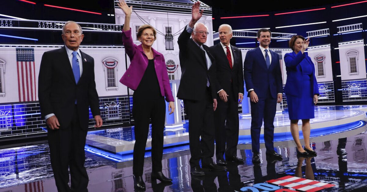 WATCH LIVE: Democratic candidates for president debate in Las Vegas