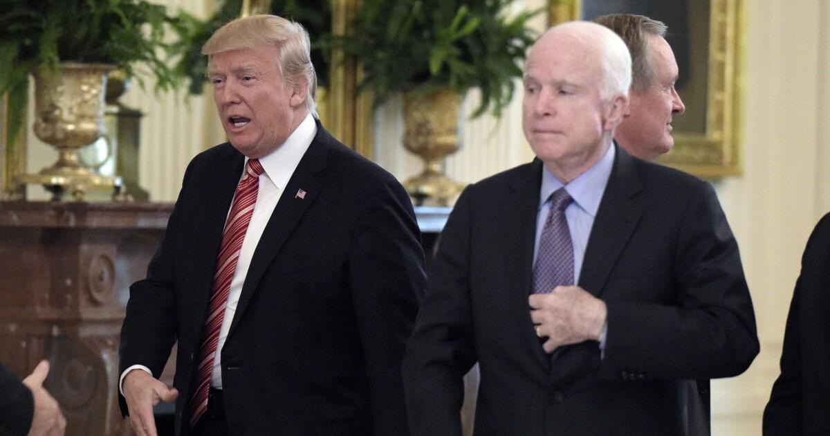 Why Trump hates John McCain so much