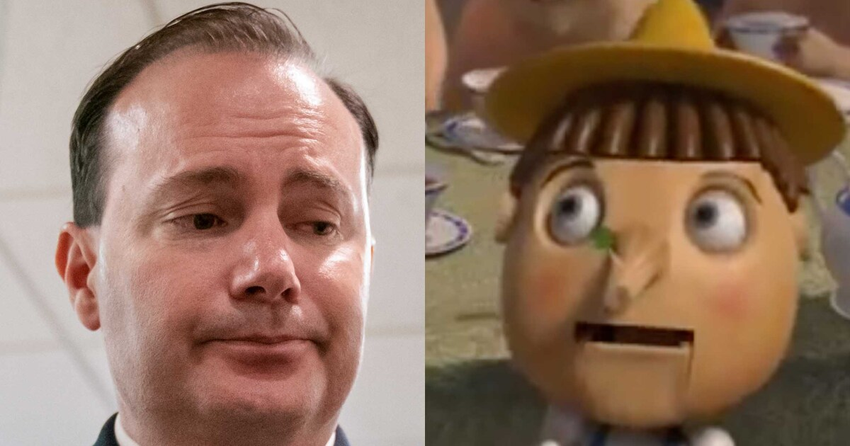 Mike Lee compares Mueller report to Pinocchio from 'Shrek'