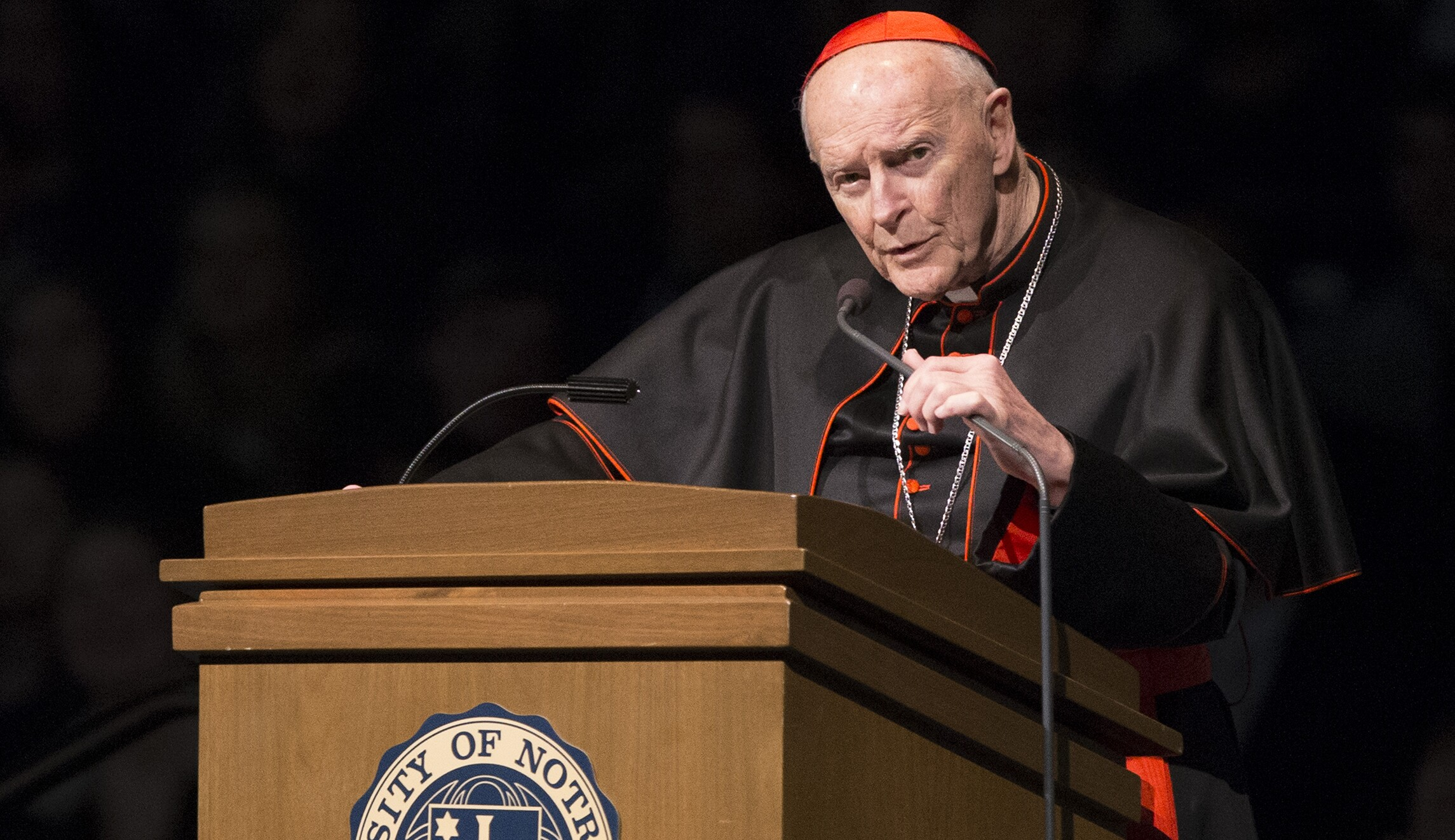 Cardinal Theodore McCarrick, facing sex abuse allegation ... Theodore Mccarrick