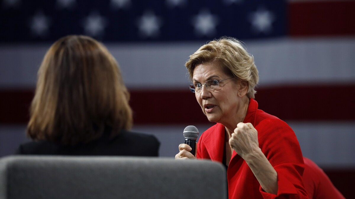Warren calls for 'high-quality, affordable, gender-affirming health care'