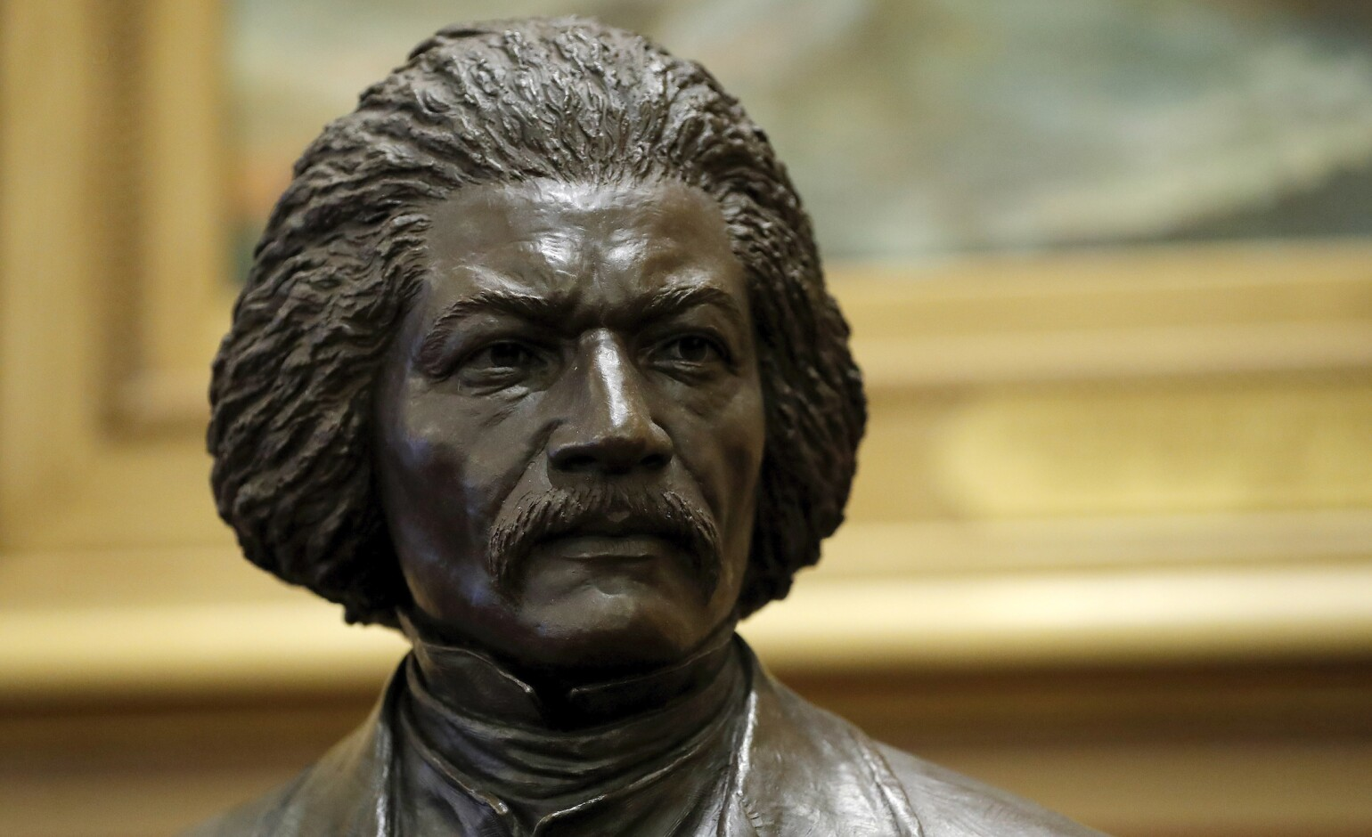Frederick Douglass statue in New York removed from base and damaged