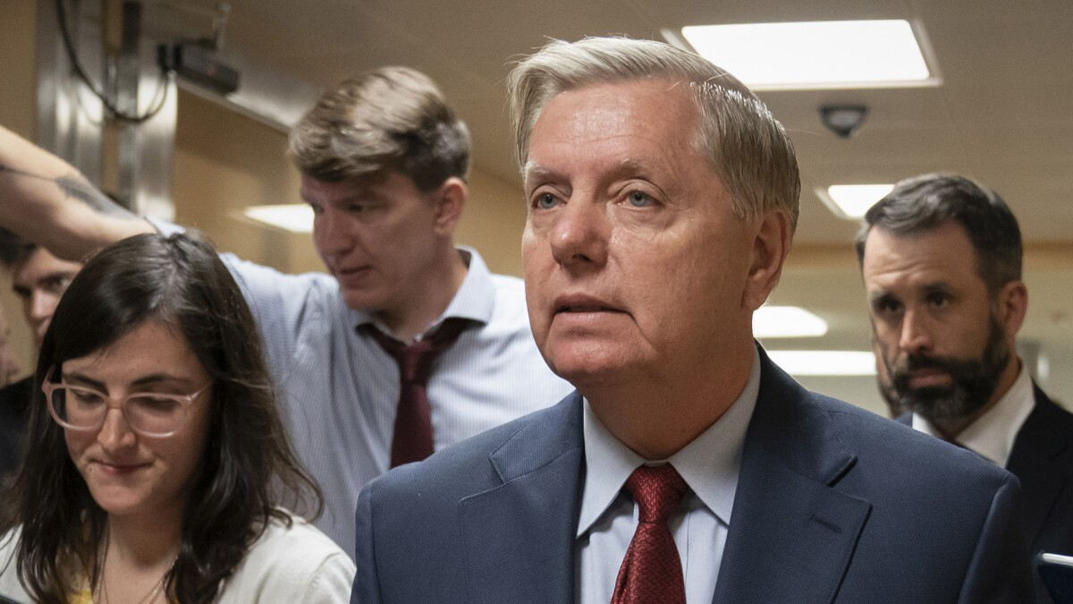 Lindsey Graham says he owns an AR-15 to defend himself against looters during natural disasters