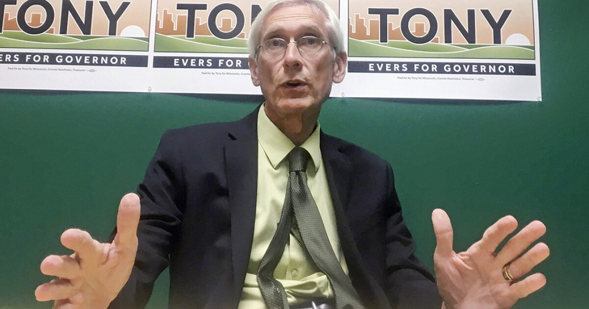 Democrat Tony Evers will take on Scott Walker in Wisconsin governor's race