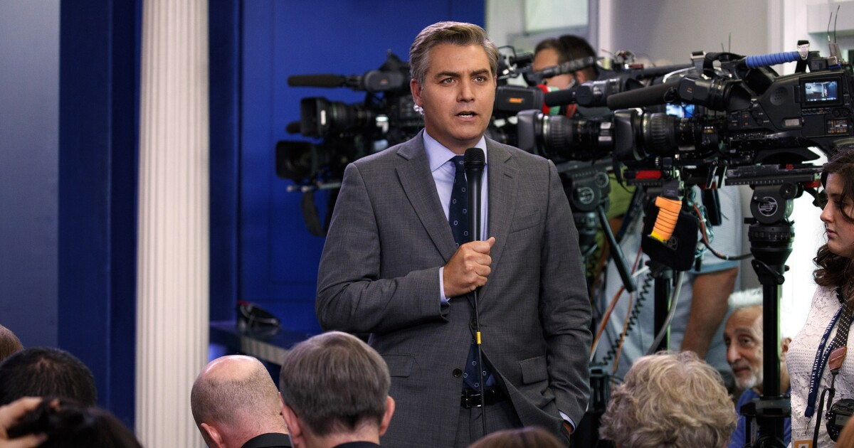 CNN gearing up to sue over Jim Acosta's suspended White ...