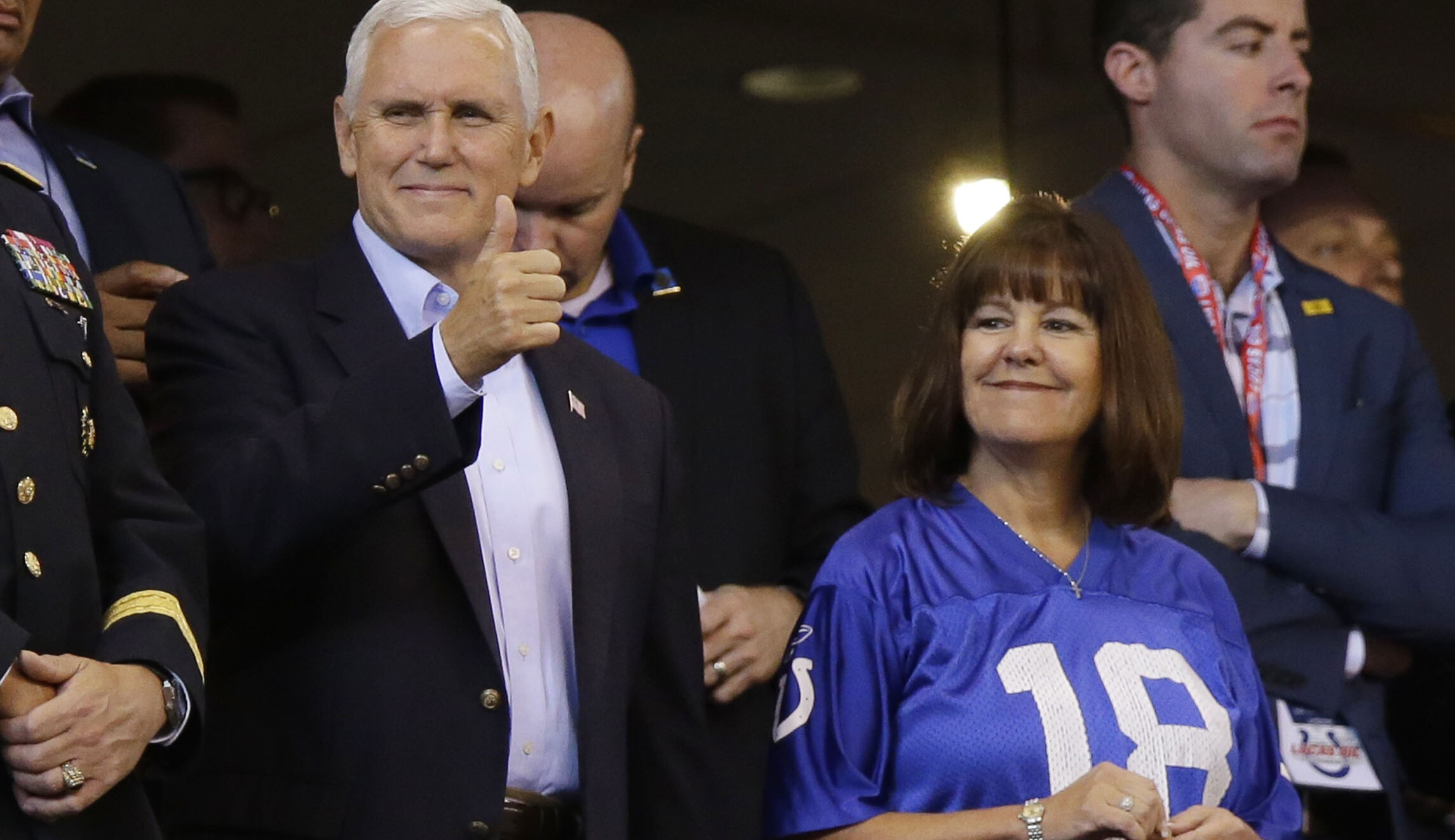 What is the weird fascination you all have on Pence's rule ...