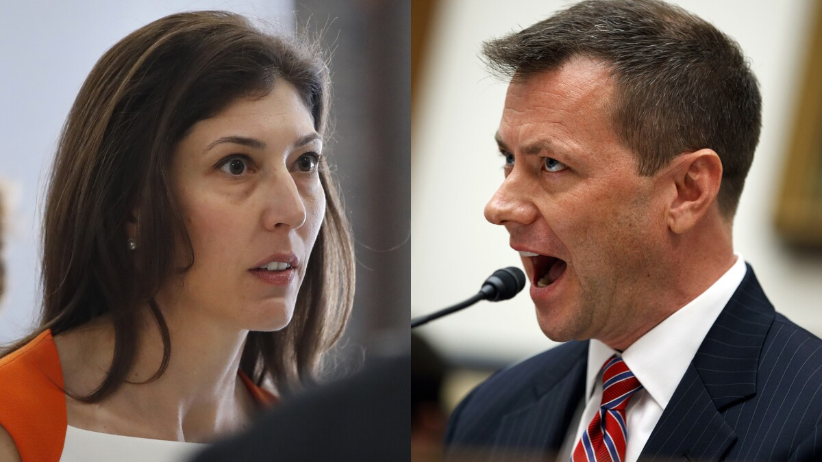 Emails show Strzok-Page spat after word got out grand jury used in Clinton emails investigation