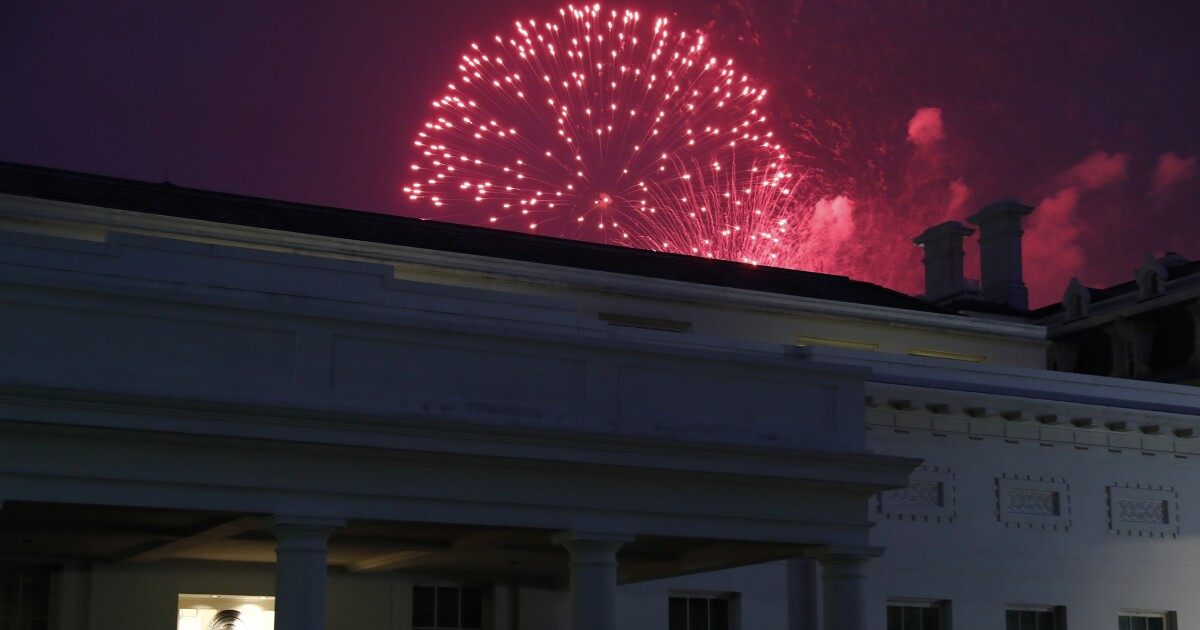 Trump takes charge of Fourth of July celebrations in DC