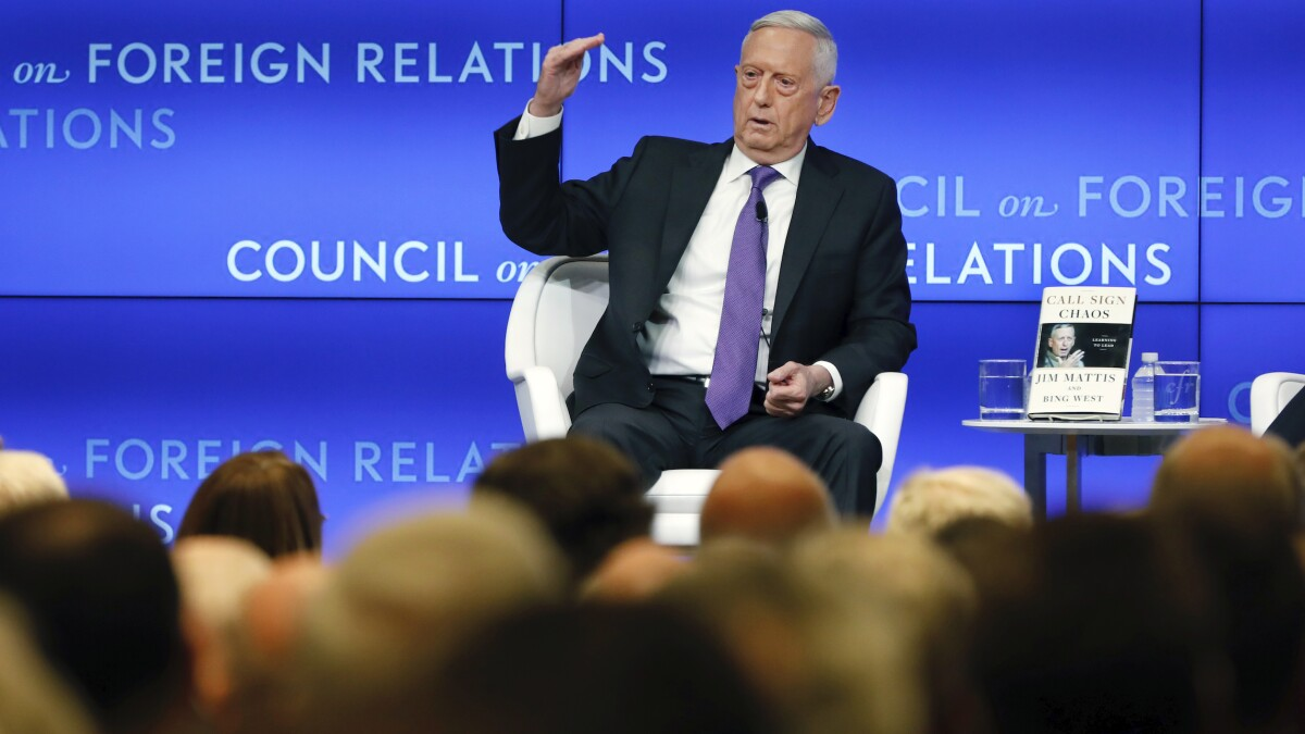 Mattis on US message to terrorists from Baghdadi raid: 'We'll find you and kill you'