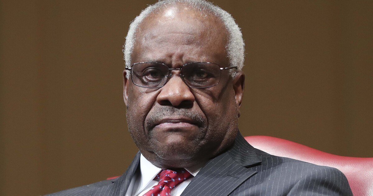 Justice Thomas says Smithsonian exhibit on him wrong