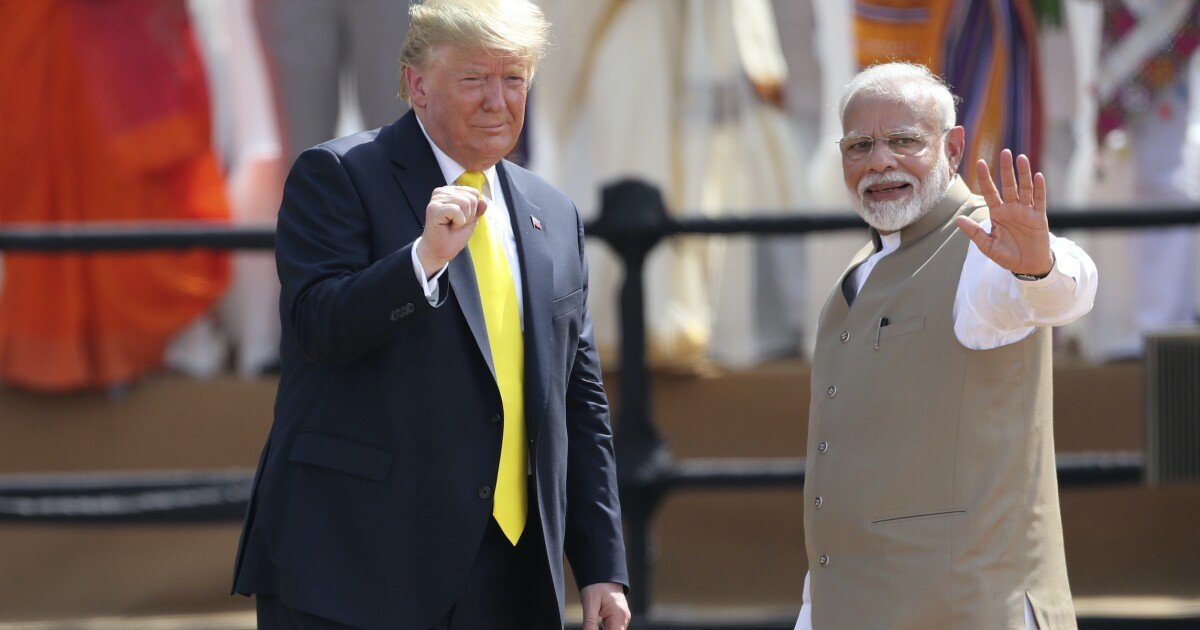 Trump's India statecraft is forward-thinking and necessary