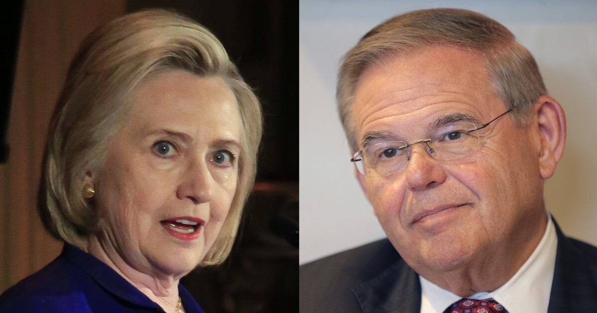 hillary clinton to stump for bob menendez in the most ethically