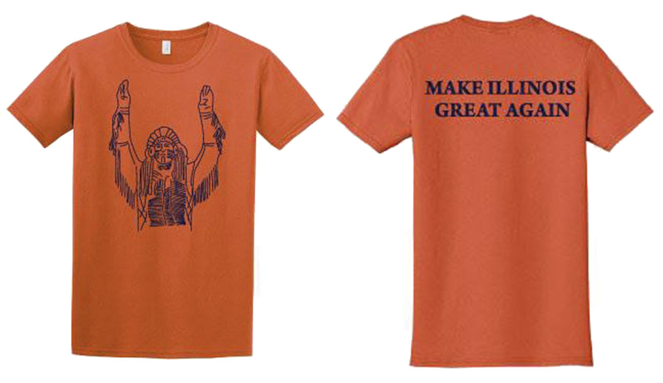 university of illinois sues over make illinois great again shirts