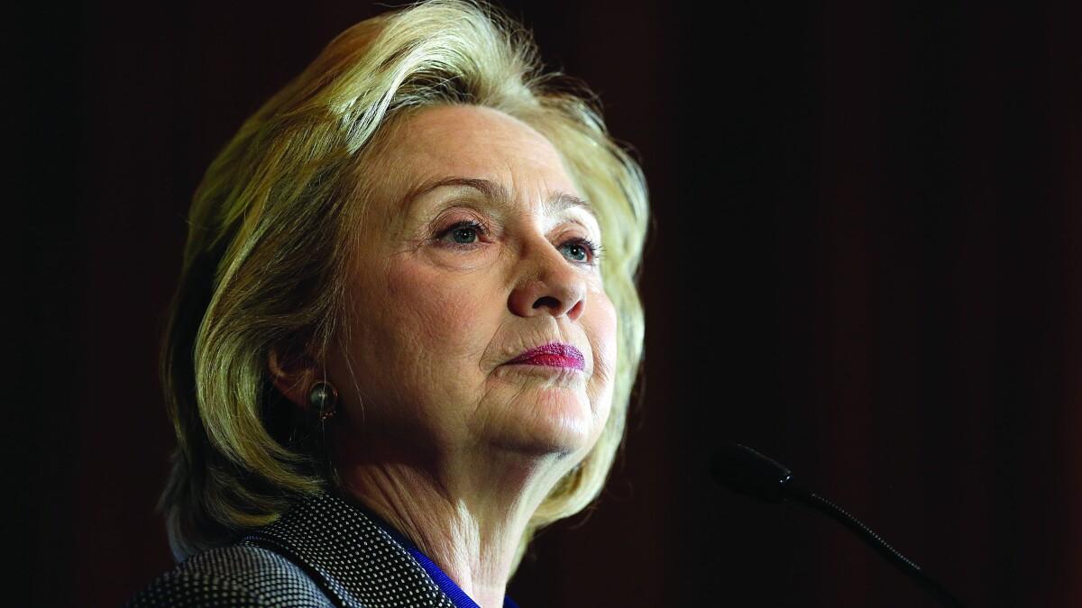 Hillary Clinton slams GOP senator for 'parroting Russian propaganda'