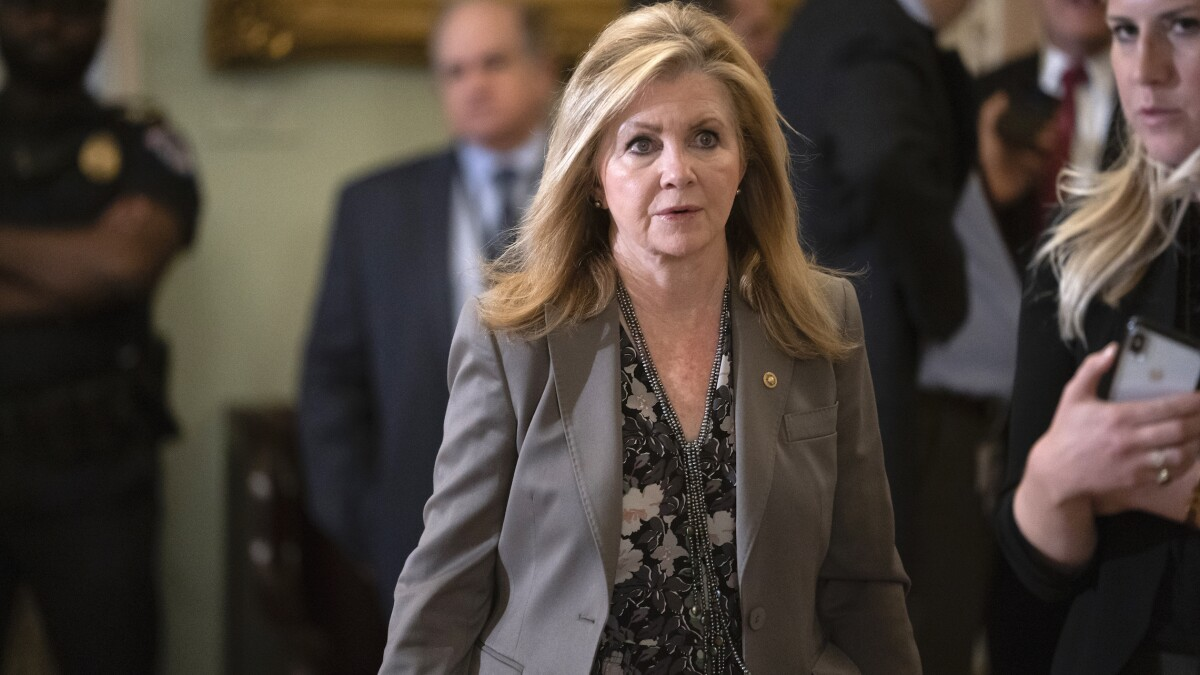 Marsha Blackburn's handling of Trump impeachment trial an embarrassment to Tennessee