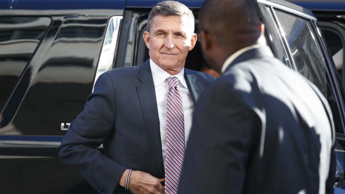 Michael Flynn files to withdraw guilty plea