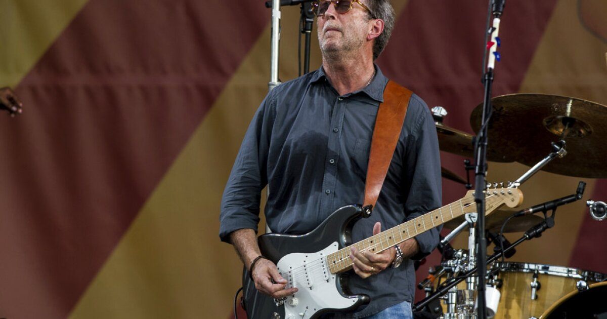 Eric Clapton isn't God, but he's not the devil, either