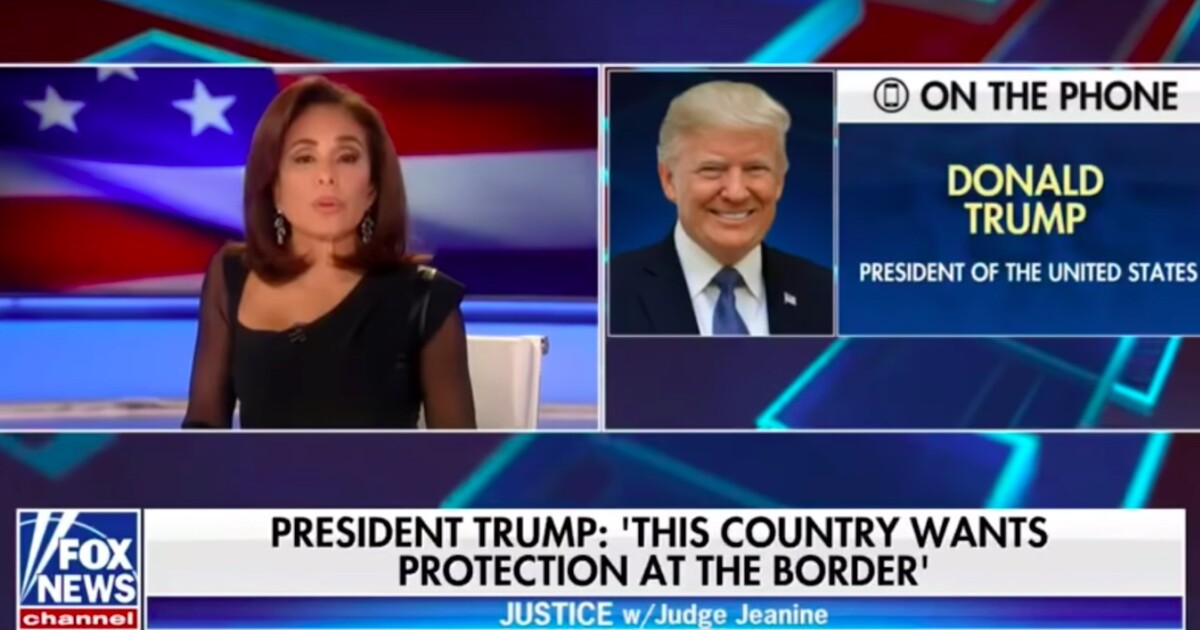 Image result for judge jeanine pirro so im going to ask you mr president