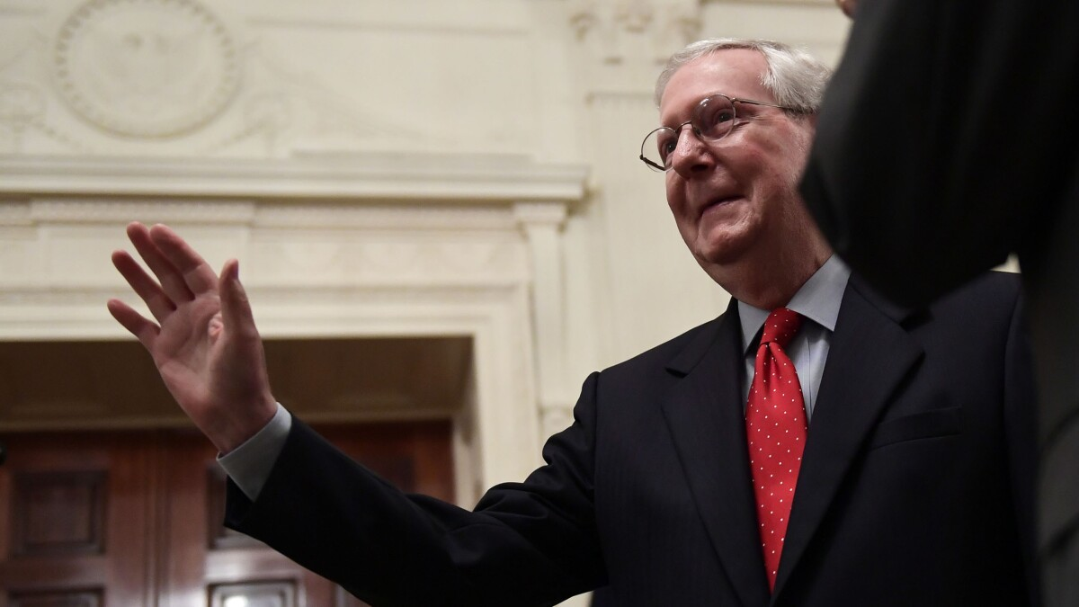 Mitch McConnell: A long, proud list of accomplishments in this Congress