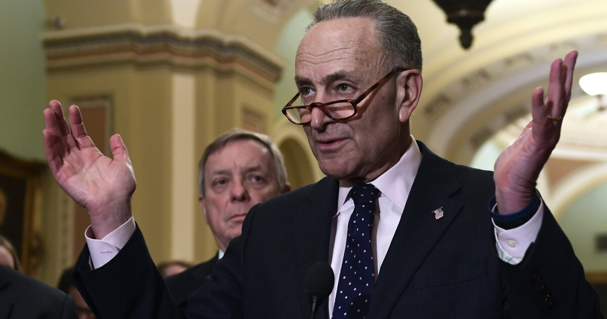 Trump tore up letter from Schumer into 'tiny pieces': Report
