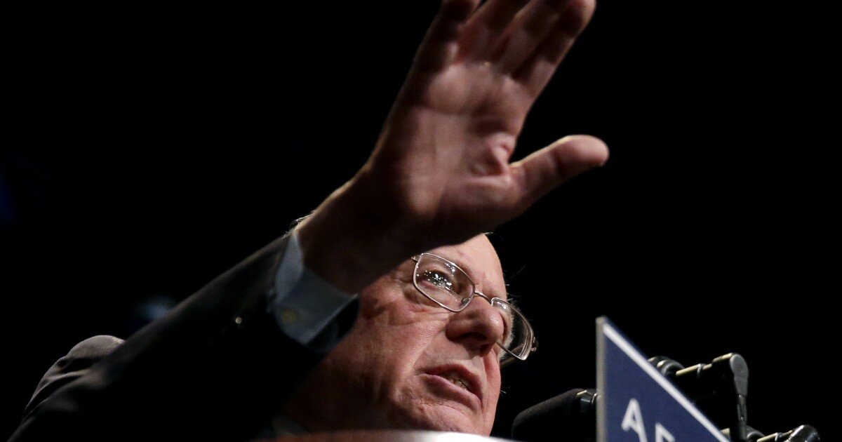Bernie Sanders Democratic rivals make clear they're hoping to take him out at convention