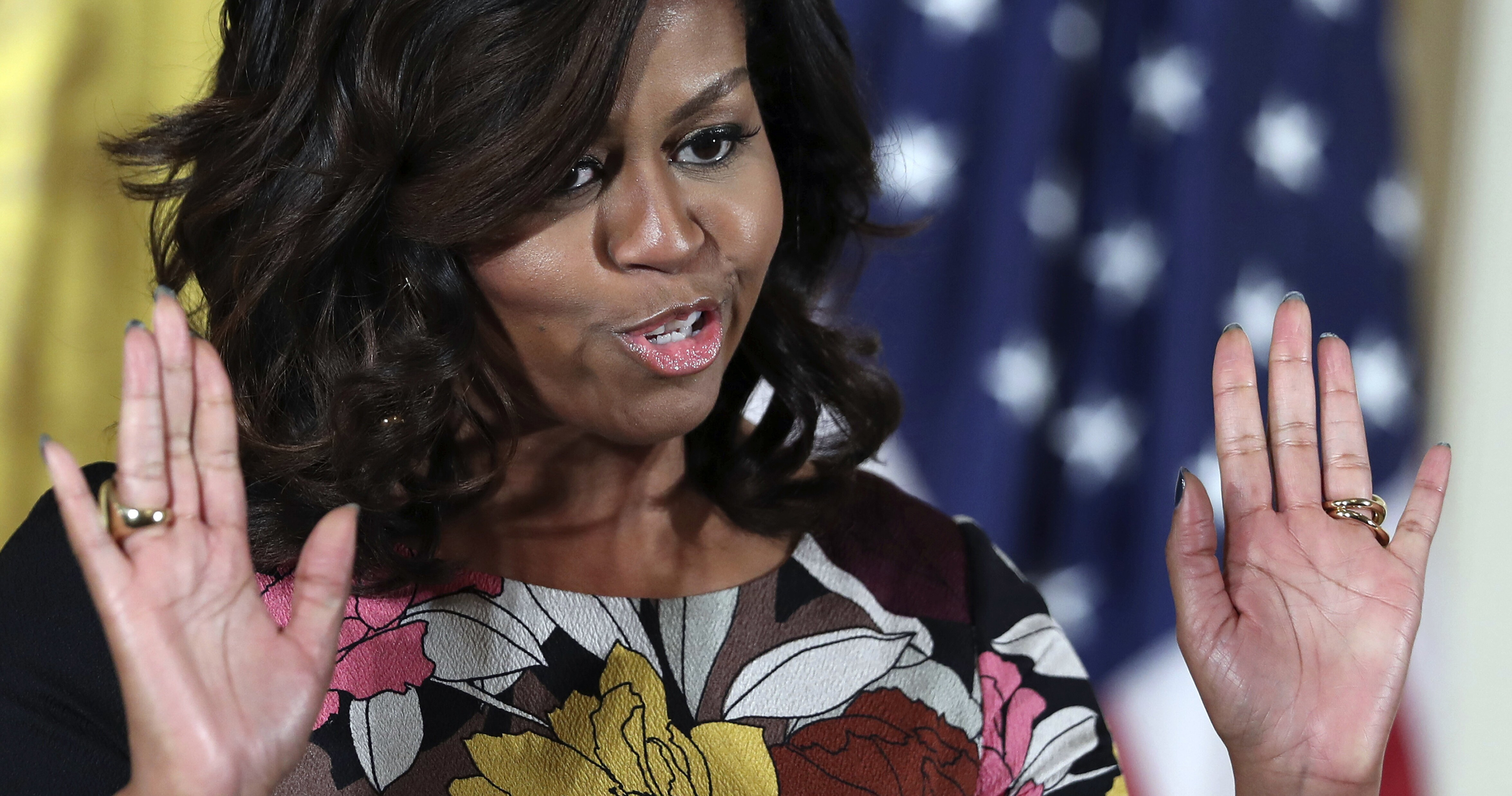 The sainthood of Michelle Obama begins, from mind to 'booty'