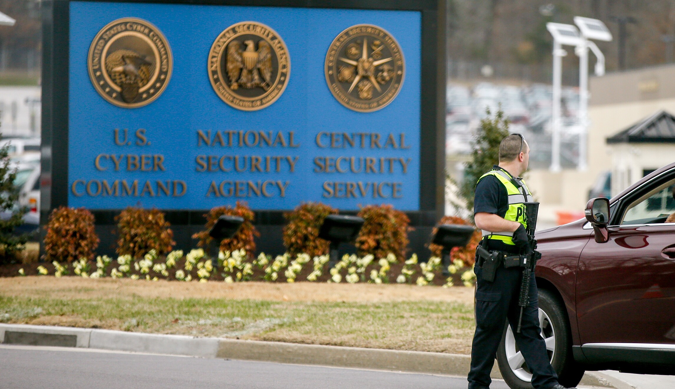 Several hospitalized after shooting at NSA's Maryland