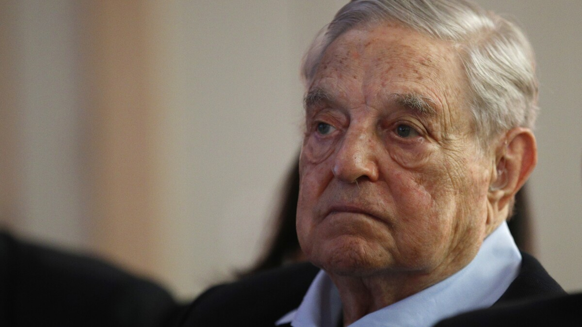 George Soros praises Trump's China policy but urges hard line on Huawei