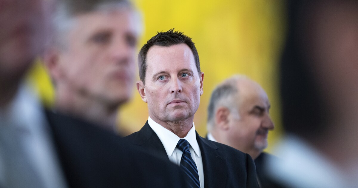 Richard Grenell seeks intelligence from briefing on Russia election interference