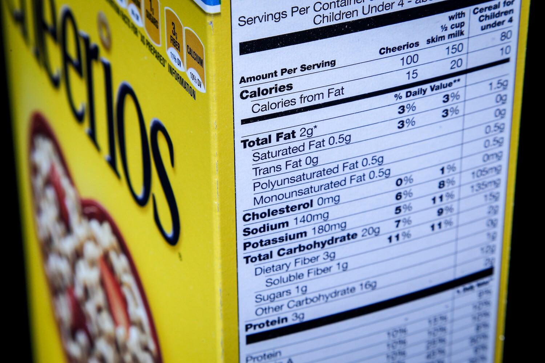 fda delays new nutrition labels