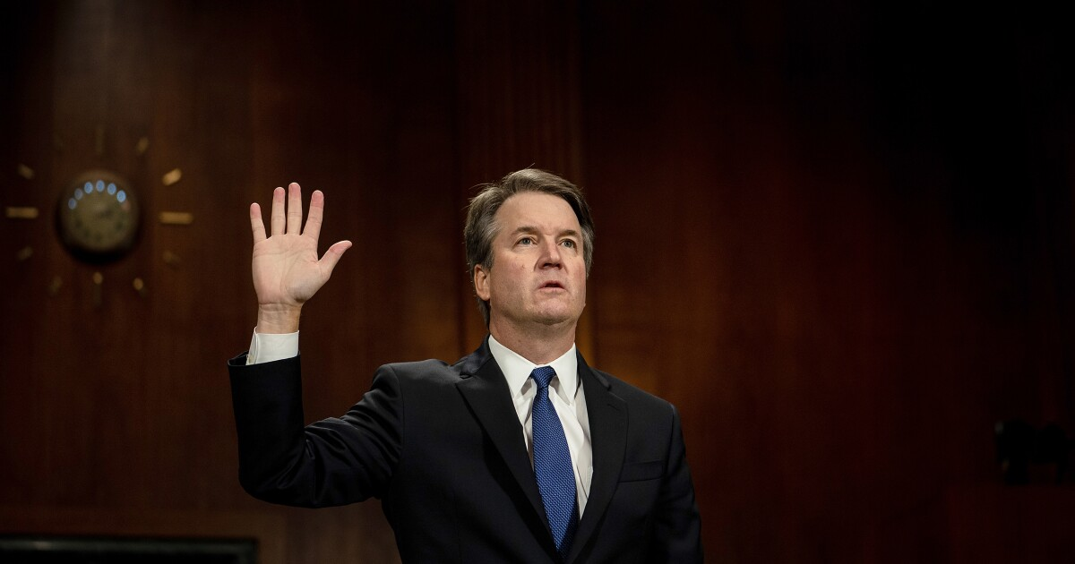 Independents disapprove of Democrats' handling of the Brett Kavanaugh nomination...