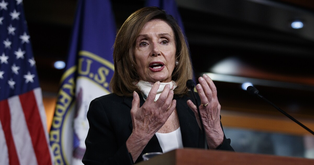 Nancy Pelosi and Democrats oppose a tax cut they voted for weeks ago