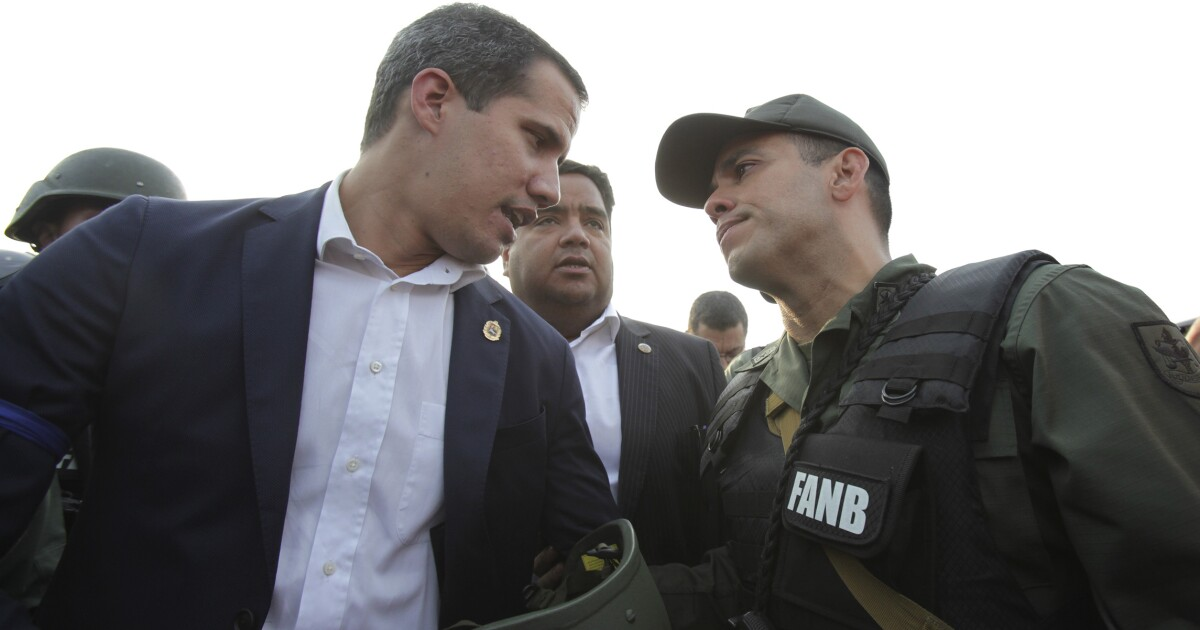 In Venezuela, a win for Guaidó would be a win for Trump