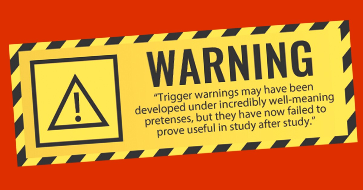 Studies Send Mixed Messages On >> Trigger Warning Mixed Messages Ahead